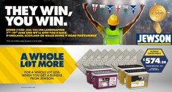 Electronics offers in the Jewson catalogue ( Expires tomorrow)