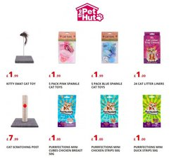 The Pet Hut offers in the The Pet Hut catalogue ( More than a month)