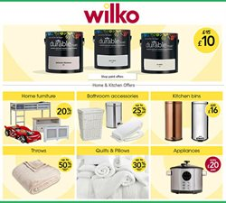 Department Stores offers in the Wilko catalogue in Glasgow