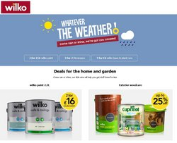 Department Stores offers in the Wilko catalogue ( 3 days left)
