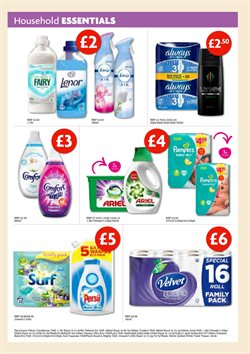 Velvet offers in the Toner's Supermarket catalogue in London