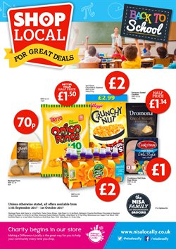 Back to school offers in the Toner's Supermarket catalogue in London