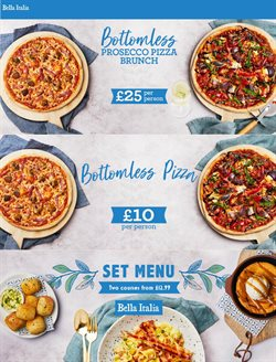Restaurants offers in the Bella Italia catalogue ( 2 days left )