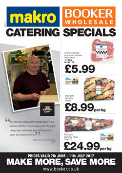 Booker Wholesale offers in the London catalogue
