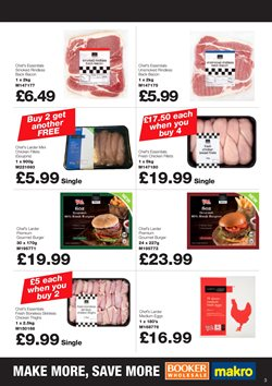 Chicken offers in the Booker Wholesale catalogue in Belfast