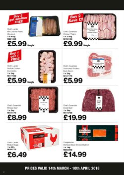 Chicken offers in the Booker Wholesale catalogue in York