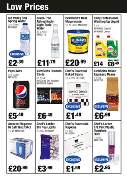 Tea offers in the Booker Wholesale catalogue in London