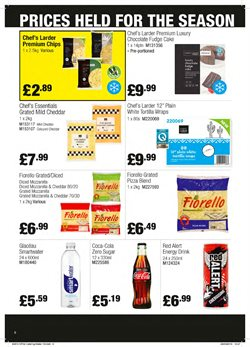 Cheese offers in the Booker Wholesale catalogue in Brighton