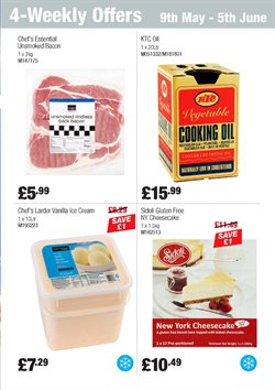 Cake offers in the Booker Wholesale catalogue in London