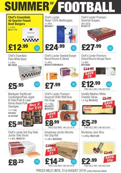 Cider offers in the Booker Wholesale catalogue in London