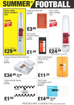 Spreads offers in the Booker Wholesale catalogue in York