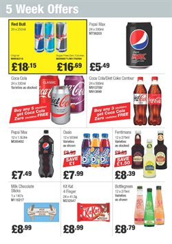 Milk offers in the Booker Wholesale catalogue in Tower Hamlets