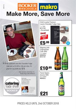 Booker Wholesale offers in the Liverpool catalogue