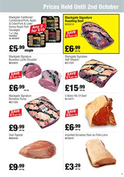 Honey offers in the Booker Wholesale catalogue in York
