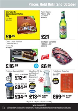 Sugar offers in the Booker Wholesale catalogue in York