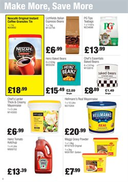 Coffee offers in the Booker Wholesale catalogue in Cheltenham