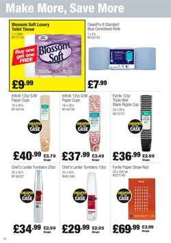 Paper offers in the Booker Wholesale catalogue in London