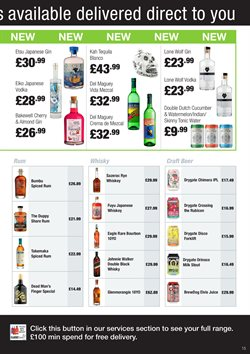 Beer offers in the Booker Wholesale catalogue in York
