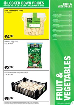Potatoes offers in the Booker Wholesale catalogue in London