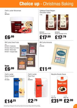 Christmas offers in the Booker Wholesale catalogue in Birkenhead