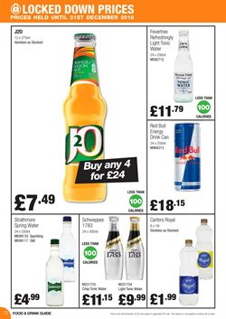 Schweppes offers in the Booker Wholesale catalogue in London