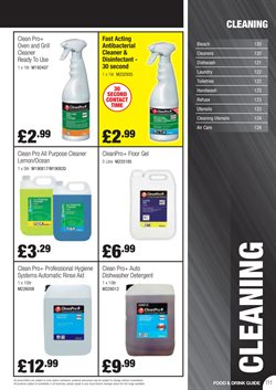 Gel offers in the Booker Wholesale catalogue in Aberdeen