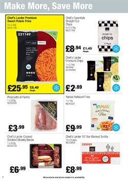 Food offers in the Booker Wholesale catalogue in London