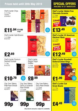 Chocolate offers in the Booker Wholesale catalogue in Hillingdon