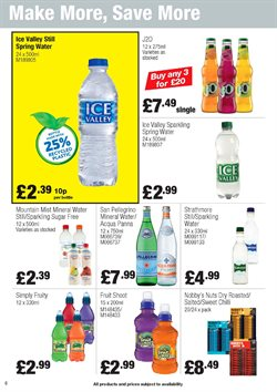 Water offers in the Booker Wholesale catalogue in Cannock