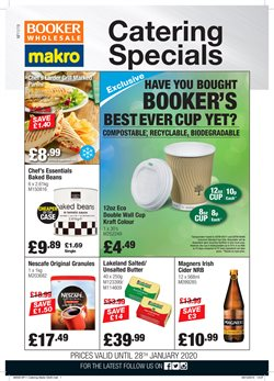 Booker Wholesale offers in the Cannock catalogue