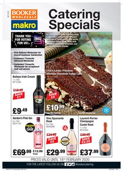 Booker Wholesale catalogue in Brighton ( Expires tomorrow )