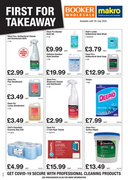 Booker Wholesale catalogue in Liverpool ( 2 days left )