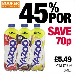 Booker Wholesale offers in the Booker Wholesale catalogue ( More than a month)
