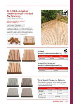 Screws offers in the Buildbase catalogue in London