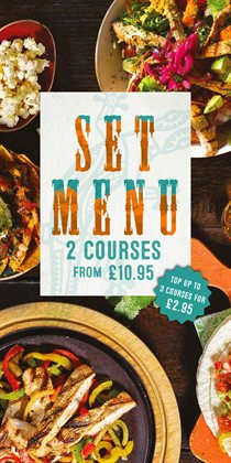 Restaurants offers in the Chiquito catalogue in Hammersmith