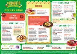 Chiquito offers in the London catalogue