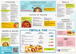 Restaurants offers in the Chiquito catalogue in Swansea ( More than a month )