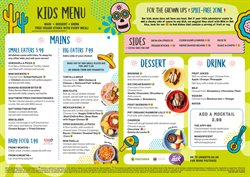 Restaurants offers in the Chiquito catalogue in Warrington ( More than a month )