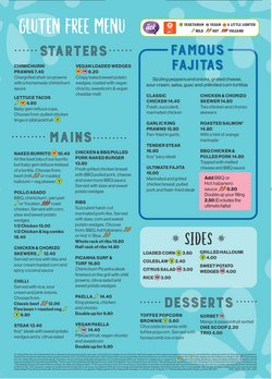 Restaurants offers in the Chiquito catalogue ( More than a month)