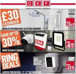 Electronics offers in the City Electrical Factors catalogue ( Expires today)