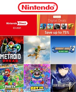 Toys & Babies offers in the Nintendo catalogue ( 8 days left)