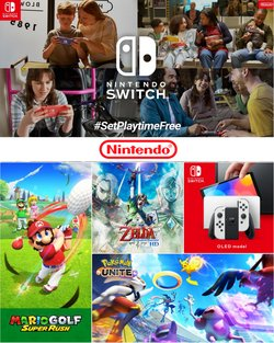 Toys & Babies offers in the Nintendo catalogue ( 12 days left)