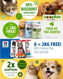 Zooplus offers in the Zooplus catalogue ( Expires today)