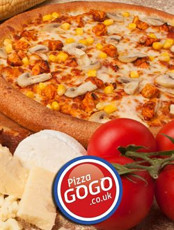 Restaurants offers in the Pizza GoGo catalogue in London