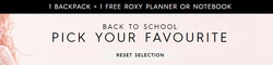 Back to school offers in the Roxy catalogue in London