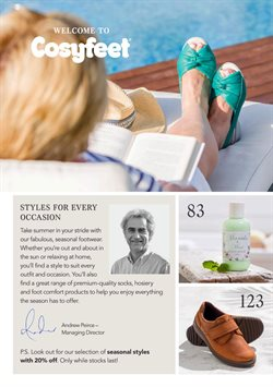 Suit offers in the Cosyfeet catalogue in London