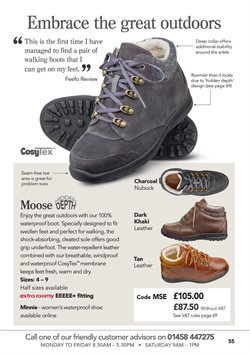 Knee high boots offers in the Cosyfeet catalogue in London