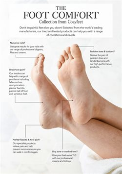 Insoles offers in the Cosyfeet catalogue in London