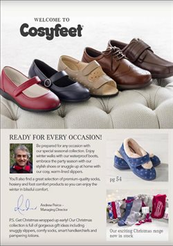 Slip on shoes offers in the Cosyfeet catalogue in London