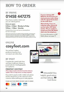Ring offers in the Cosyfeet catalogue in London
